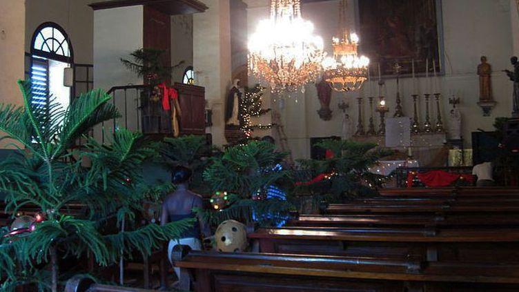 Eglise Saint-Charles Borromée à Gorée Sénégal décembre 2009. (CC Dorothy Voorhees)