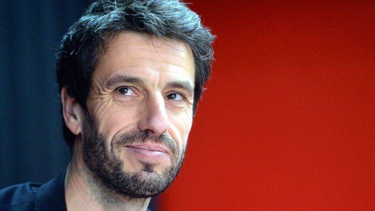 Tony Estanguet, triple champion olympique de canoë,membre du CIO et président du comité d'organisation des JO de Paris 2024, le 7 février 2020 à Montpellier (Hérault). (MICHAEL ESDOURRUBAILH / MAXPPP)