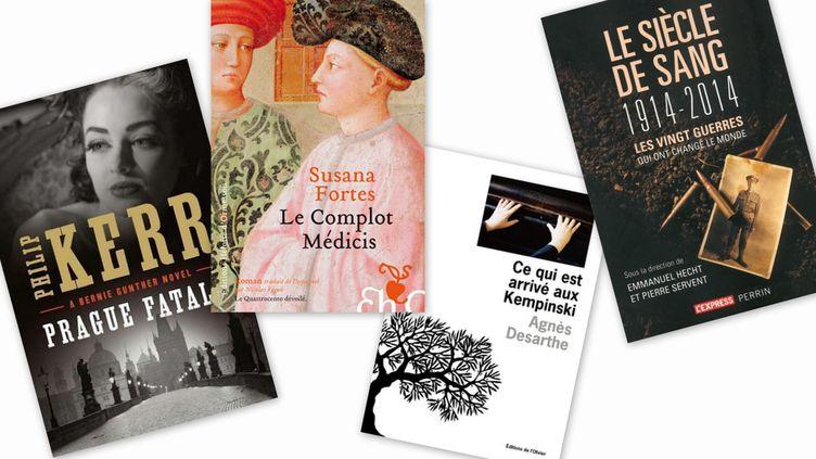(© Ed. Du Masque - Ed. de l'Olivier - Ed. Héloïse d'Ormesson - Ed. Coédition L'Express/Perrin)