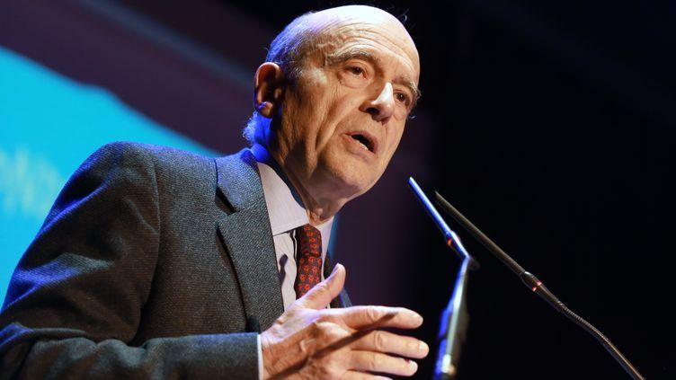 Le maire de Bordeaux Alain Juppé à Pessac (Gironde), le 23 mars 2015. (NICOLAS TUCAT / AFP)