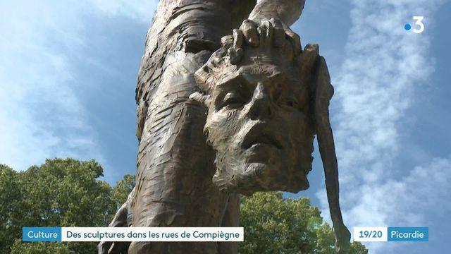 Statues monumentales à Compiègne