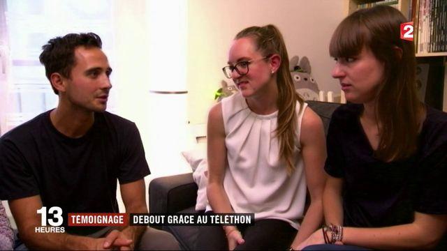 Mathilde Fabre : elle remarche grâce au don du téléthon
