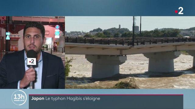 Japon : le typhon Hagibis a quitté le pays