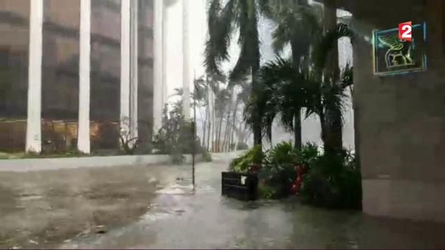 Ouragan Irma : rafales et montées des eaux à Miami