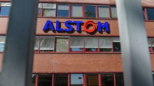 Des locaux de l'usine Alstom, à Belfort, mercredi 7 septembre 2016. (SEBASTIEN BOZON / AFP)