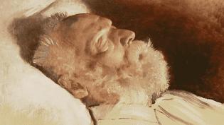 Victor Hugo sur son lit de mort  (France 3 Culturebox capture d'écran)
