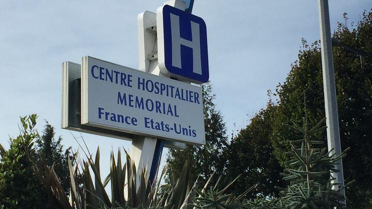 Le centre hospitalier franco-américain Mémorial à Saint-Lô, dans la Manche. (MARC BERTRAND / FRANCE-BLEU COTENTIN)