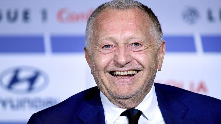 Jean-Michel Aulas, président de l'Olympique lyonnais. (RICHARD MOUILLAUD / MAXPPP)