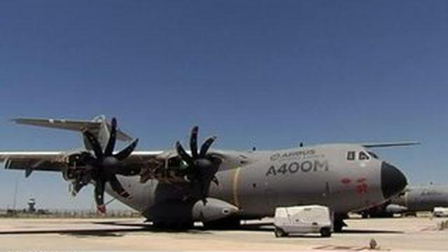 Séville : un Airbus A400 M s'écrase et fait quatre morts