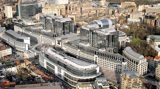 Le Parlement européen à Bruxelles (Belgique). (MAXPPP)