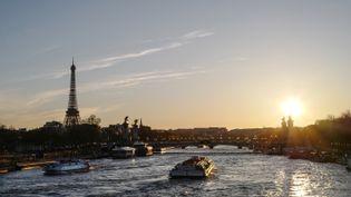La ville de Paris, en avril 2018. (LUDOVIC MARIN / AFP)