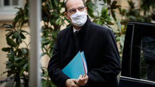 Le Premier ministre Jean Castex à l'Hôtel de Matignon à Paris le 13 novembre 2020 (THOMAS PADILLA / MAXPPP)