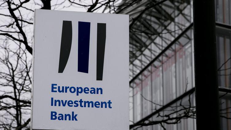 Le siège de la Banque européenne d'investissement à Bruxelles (Belgique). (MAXPPP)
