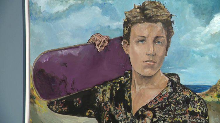 Arthur Rimbaud vu par Charlélie Couture. (CAPTURE D'ÉCRAN FRANCE 3)