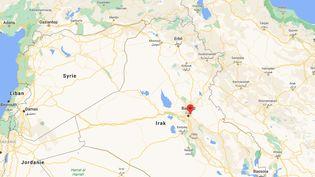 L'attaque a eu lieu à Bagdad, en Irak, le 19 jillet 2021.  (GOOGLE MAPS)