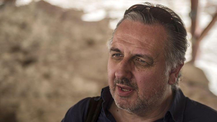 L'égyptologue et archéologiue britannique Nicholas Reeves à Louxor le 28 sept 2015.  (Khaled Desouki / AFP)