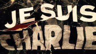 """(Le symbole """"Je suis Charlie"""" ne plaît plus à tout le monde © Radio France / Hélène Lam Trong)"""