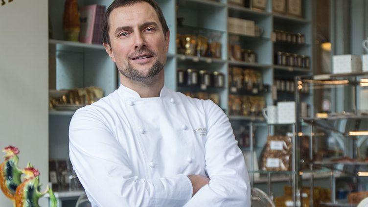 Sébastien Gaudard, patron d'unepâtisserie/boulangerie rue des Martyrsdans le 9e arrondissement de Pariset d'un salon de thé aux Tuileries. (Sébastien Gaudard)