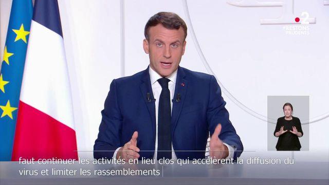 Emmanuel Macron détaille la première étape