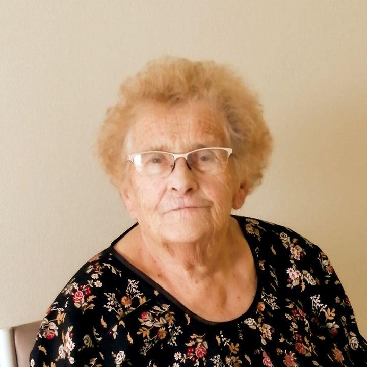 Jacqueline Cormier,sur une photo datéede novembre 2020transmise à franceinfo par ses proches. (JESSICA KOMGUEN / DR)