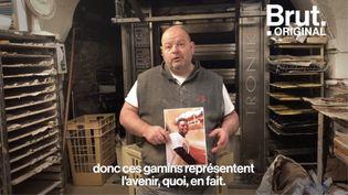 """VIDEO. Boulanger en grève de la faim : """"L'humanité, elle n'est pas sur un retour au pays à 18 ans pour le seul fait d'avoir 18 ans"""" (BRUT)"""