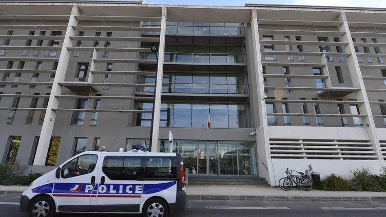 Commissariat central de la police national Waldeck Rousseau de Nantes (Loire-Atlantique). (FRANCK DUBRAY / MAXPPP)