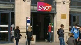 Capture d'écran de la gare SNCF de Reims (Marne), mars 2014 (FRANCE 3 CHAMPAGNE ARDENNE / FRANCETV INFO)