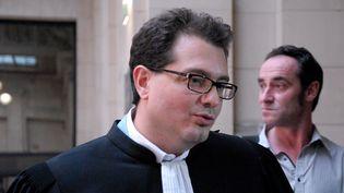 Jérôme Triomphe, avocat des parents de Vincent Lambert, le 24 septembre 2014, à Paris. (CITIZENSIDE / PATRICE PIERROT)