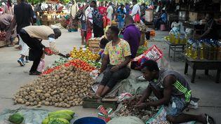Un marché à Zanzibar (Tanzanie). Photo d'illustration. (LAURENT MAMI / MAXPPP)