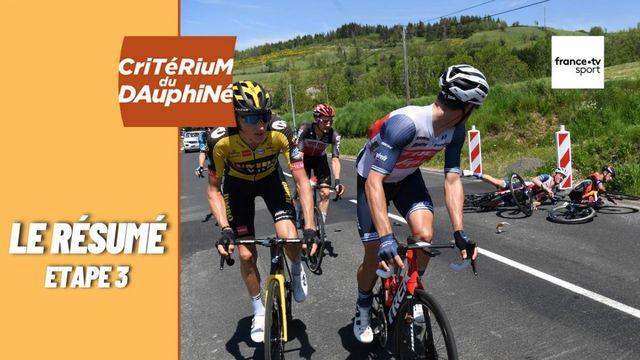 Critérium du Dauphiné 2021 : le résumé de la troisième étape