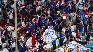 Les supporters français dans l'Allianz Arena de Munich lors de France-Allemagne, le 15 juin (ANDRE WEENING / ORANGE PICTURES)