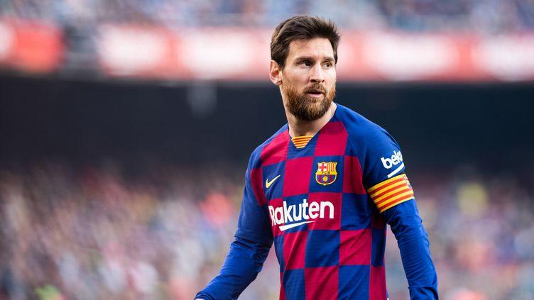 Lionel Messi, attaquant du FC Barcelone.  (MARC GONZALEZ ALOMA / SPAINDPPI)