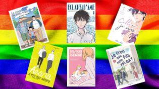 Quelques mangas abordant la question de l'identité sexuelle, disponibles en France (AKATA / PIKA)
