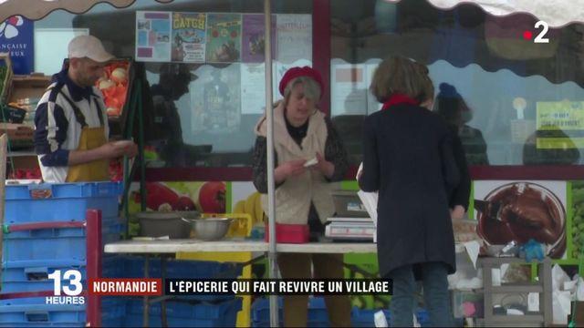 Seine-Maritime : l'épicerie qui fait revivre un village