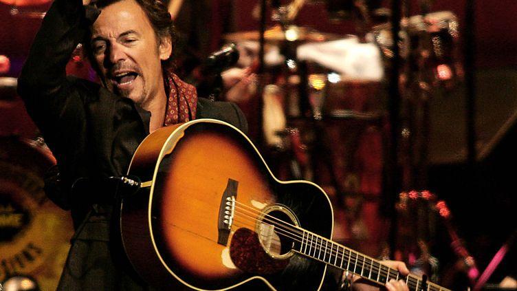 Bruce Springsteen en concert à Madrid le 19 octobre 2006 (BRU GARCIA / AFP)