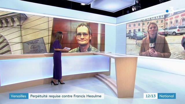 Versailles : Perpétuité requise contre Francis Heaulme