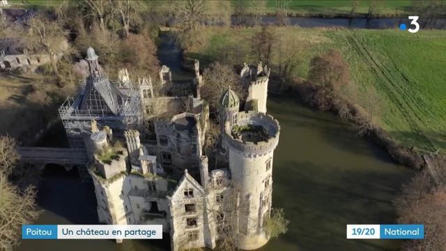 Vienne : le château de la Mothe-Chandeniers, propriété de 25 000 internautes