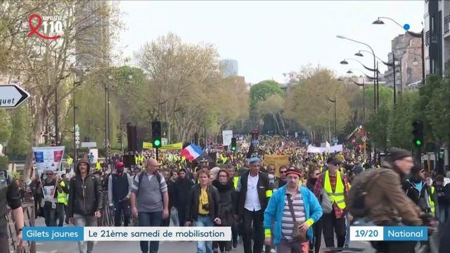 """""""Gilets jaunes"""" : retour sur l'acte 21 du mouvement"""