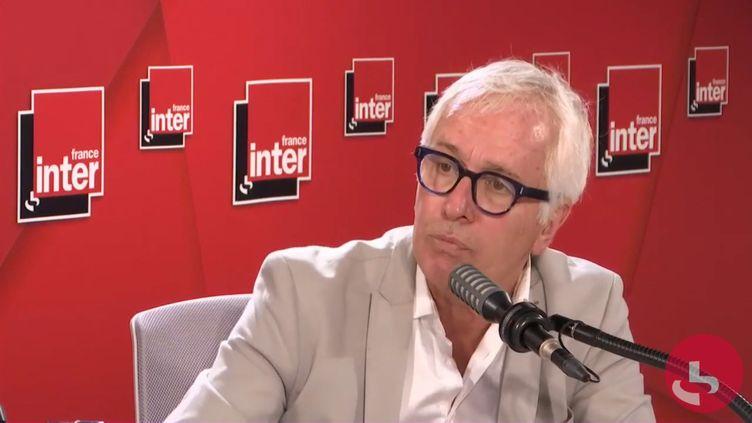 Gilles Pialoux, chef du service des maladies infectieuses à l'hôpital Tenon à Paris, lundi 17 août sur France Inter. (CAPTURE ECRAN / FRANCEINTER)