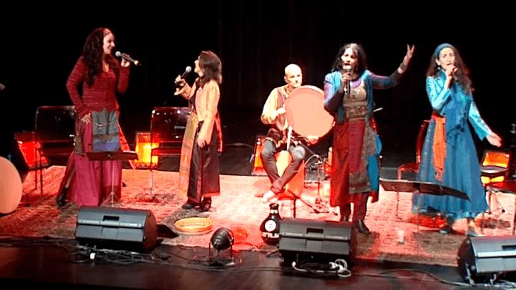 Le quatuor Balkane séfarades marie les polyphonies bulgares aux chants traditionnels séfarades des Balkans.  (Culturebox / Capture d'écran)