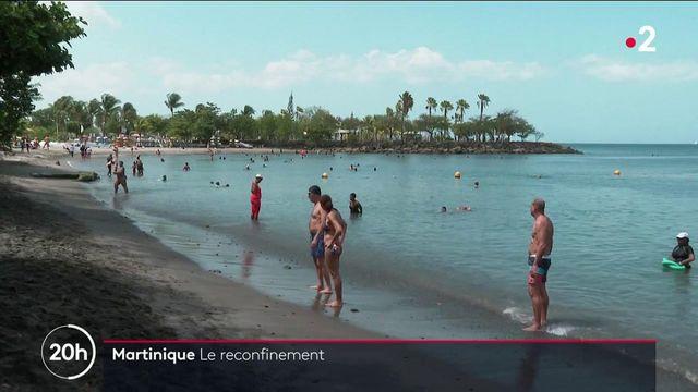 Martinique : l'île se reconfine et impose un couvre-feu à 19 heures