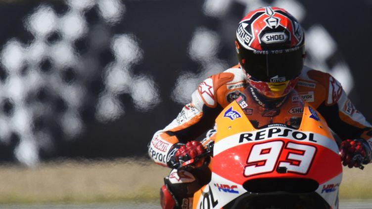 Marc Marquez (Honda) sur ses terres en Espagne (MILAGRO / MILAGRO)