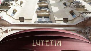 La facade de l'hôtel Lutetia à Paris, le 17 octobre 2013. (  MAXPPP)