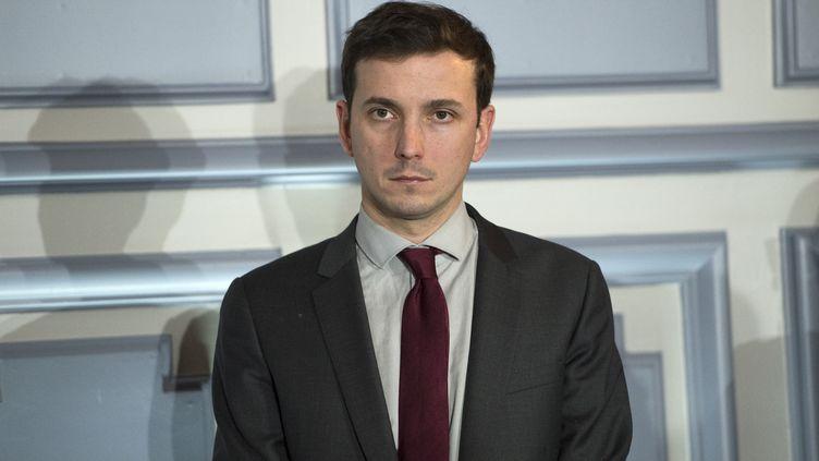 Le député LREM Aurélien Taché à Lyon, le 19 février 2018. (LAURENT CERINO/REA / REA)