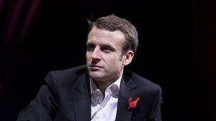 (Emmanuel Macron affirme qu'Amazon réalise le quart de son chiffre d'affaires le dimanche © Maxppp)