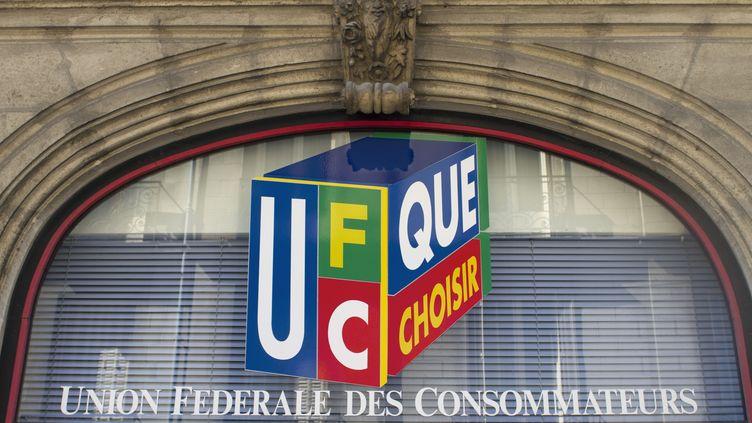 Façade de de l'association de consommateurs UFC Que Choisir, le 25 mars à Nantes (Loire-Atlantique). (JACQUES LOIC / PHOTONONSTOP / AFP)