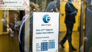 Une agence Pôle emploi du 12e arrondissement à Paris, le 4 novembre 2019. (XOSE BOUZAS / HANS LUCAS / AFP)