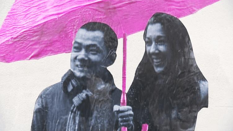 """Le projet """"Des parapluies dans tout Paris"""" du collectif """"Le Mouvement""""  (France 3 / Culturebox )"""