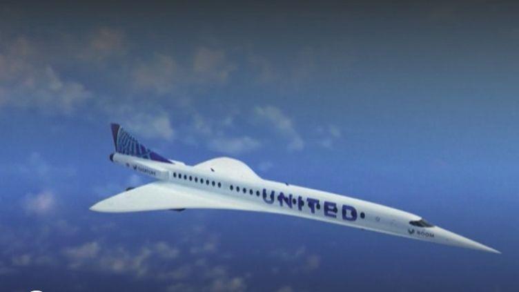 Alors que le secteur de l'aéronautique est en crise extrême, la compagnie américaine UnitedAirlinesa décidé d'investir trois milliards de dollars dans des avions supersoniques. (FRANCE 2)