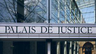 Entrée du palais de justice de Toulouse (VALENTIN BELLEVILLE / HANS LUCAS)
